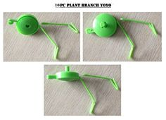 Bay Hydro Plant Branch YOYO W Spring Stopper  2 Hooks GREEN 10pc >>> Check out this great product.