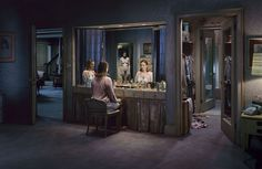 Gregory Crewdson, nice cinematic photography, everything is staged to tell a story. I really want to learn something from his use of lighting