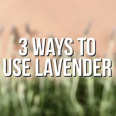We're lusting over lavender! 3 new ways to use this fragrant flower >> https://www.facebook.com/HGTV/videos/10153793927329213/