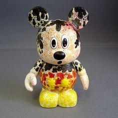 Paint Splatter Mouse 3 Custom Vinylmation by FlightsofFancyDesign, $31.00