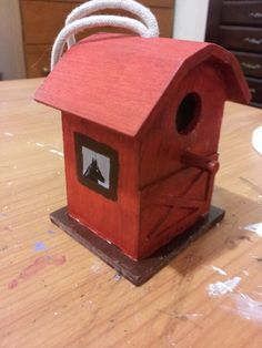 #12 Red Horse Barn ($5.00)