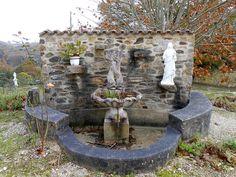 Fontaine à la Coquille Ste Marie (Dordogne)