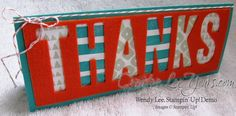 Paper Pumpkin Layers of Gratitude Thanks by Wendy Lee, #creativeleeyours, Stampin' Up!, February 2015 kit