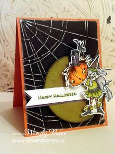 Welcome back for our final day of Stampendous Core'dination Week!         supplies used:   Stampendous ( Punkin Kitty )   Core-dinations ...
