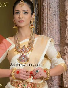 Traditional Wedding Jewellery by Tibarumal Jewels photo