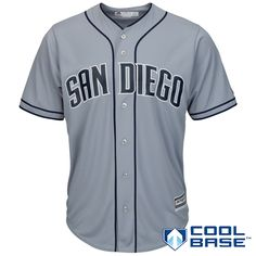 317d1e5ddc2 Majestic Men s San Diego Padres Replica Jersey San Diego Padres