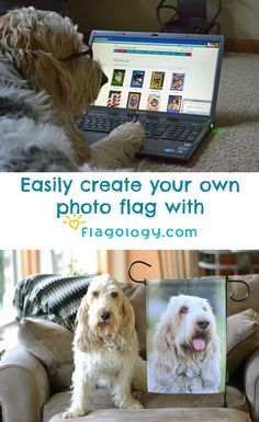 My GBGV LIfe | create your own  @flagology  fun, photo, garden flag! Use my promo code to get 15% off. Choose from many designs for holidays, kids, school, and more!