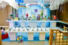 Boys Peppa Pig Party Idea