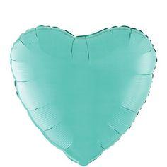 Robin's Egg Blue Heart Balloon