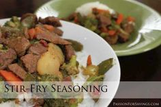 Make Your Own Stir Fry Seasoning Mix.