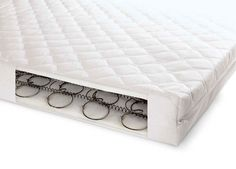 Now you can enjoy a comfortable sleep in the presence of the sprung cot bed mattress. It is manufactured with the material that is well breathable and very comfortable in use.