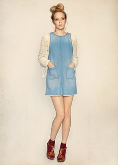 Miss Selfridge: SS13 Denim dress