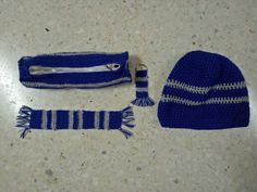 Harry potter beanie, pencil pouch, keyring & bookmark