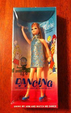 Vintage 1970 Topper Toys Dawn Doll Dancing Glori. Mint In Box NRFB