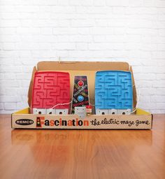1961 REMCO Fascination Electric Maze Game by FireflyVintageHome on Etsy