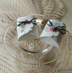 Gastgeschenk Tischkarte Hochzeit Hochzeitstag Flocke Hochzeitsmandeln box Schachtel