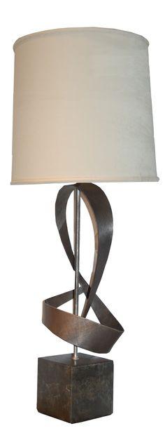 "BRADLEY HUGHES ""Dean"" Lamp. Custom sizing available. Visit www.BRADLEY-HUGHES.com for more info"