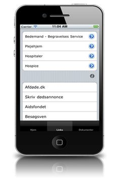 ios: Begravelses Service