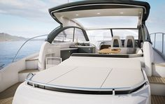 Princess V48 Open: The new Princess IPS Experience Uncovered. In May we launched our first sports boat designed with the latest Volvo IPS engines and drive system, the Princess V48, which is set to make her international debut at the PSP Southampton Boat Show in September. Now for those who want the simplicity of IPS with a true open boating experience, Princess is pleased to announce the launch of the new Princess V48 Open. Find out more on our website: www.princessyachts.com/news/V48-open