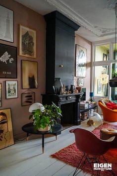 Interior Walls, Home Interior Design, Craftsman Interior, Style Deco, Living Room Inspiration, Apartment Living, Home And Living, Living Spaces, Room Decor