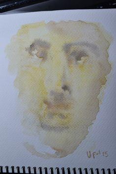 Rostros 3. Acuarela - Watercolor