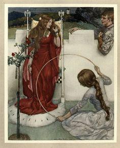 LARGE SIZE PAINTINGS: William Russell FLINT (1880-1969) La Mort d'Arthur...
