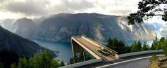 aurland observation deck, norway