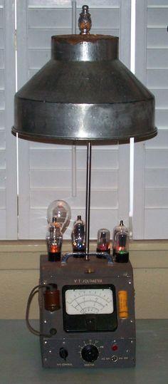 Voltmeter lamp/ J Dooley
