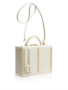 MARK CROSS I Studded Grace Large Box Bag   SS2014