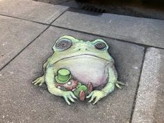 This Artist Makes Imaginative Chalk Arts On The Streets Of Michigan And It's Really Wonderful Street Art Banksy, Street Art News, 3d Street Art, Street Artists, Graffiti Artists, Usa Street, David Zinn, Chalk Artist, Artist Art