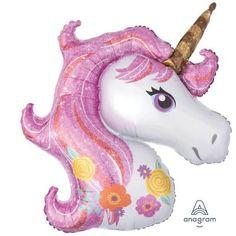 Magical Unicorn Balloon, 33 Inch Unicorn Balloon, Unicorn Party Decorations, Girls Birthday Party, C Unicorn Balloon, Unicorn Head, Magical Unicorn, Cute Unicorn, Evil Unicorn, Unicorn Pinata, Beautiful Unicorn, Rainbow Unicorn