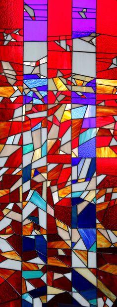 ERBİL KARE // stained glass // Devrim Erbil