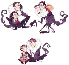 Don't Starve- Monster! Maxwil by hi-host.deviantart.com on @DeviantArt