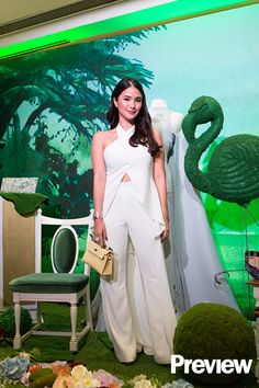 Here's What You Missed at the Opening Day of Heart Evangelista's Painted Bags Exhibit Heart Evangelista Style, Power Dressing Women, Filipiniana Dress, Layered Fashion, White Outfits, Classy Women, Pink Fashion, Feminine Style, Dress Up