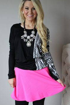 Bright Lights Neon Skirt – Sisterly Chic Boutique