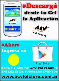 Descarga en Play Store la app ACV FOLCLORE