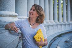 Clutch amarillo a crochet Patron de @santapazienzia