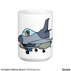 Jet Fighter Military Mug