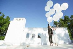 A jumping photo that is adorable, not corny. | 42 Impossibly Fun Wedding Photo Ideas You'll Want To Steal