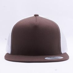 Wholesale Yupoong 6006T Classic Trucker  Brown White  6f4df9d841fa