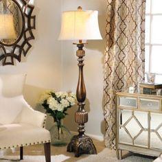 Bronze Charlie Floor Lamp | Kirklands ~ Item #: 133768 $99.99 ~  Sale ~ $71.99