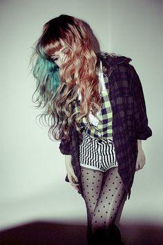 Grunge #fashion #hair #photography