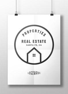 Home Logo. Real Estate Logo. House Logo. Housing Logo. Company Logo Design. Customizable Logo Design. Instant Download Logo. DIY Logo. by logowave. Explore more products on http://logowave.etsy.com