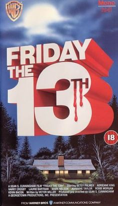 Friday the 13th (1980) movie cover (UK)