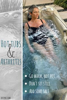 Hot tub therapy for anyone suffering from arthritis. Learn how to optimize your…