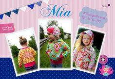 Nähanleitungen Kind - Ebook Mia ♥ Kinderjacke von 80-140 - ein Designerstück von rosarosa-shop bei DaWanda