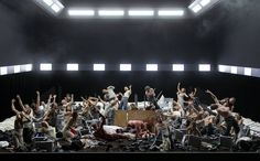 Idomeneo staged by d. michieletto