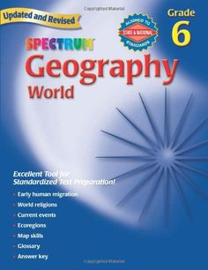 Geography, Grade 6: The World (Spectrum)/Spectrum