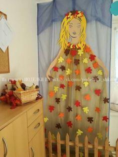 ПОДЕЛКИ В ШКОЛУ Autumn Crafts, Fall Crafts For Kids, Autumn Art, Safari Decorations, School Decorations, Letter E Craft, Christmas Gingerbread House, Newspaper Crafts, Fall Projects