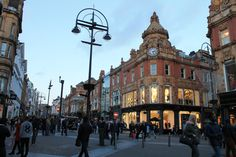 Leeds Busy City!
